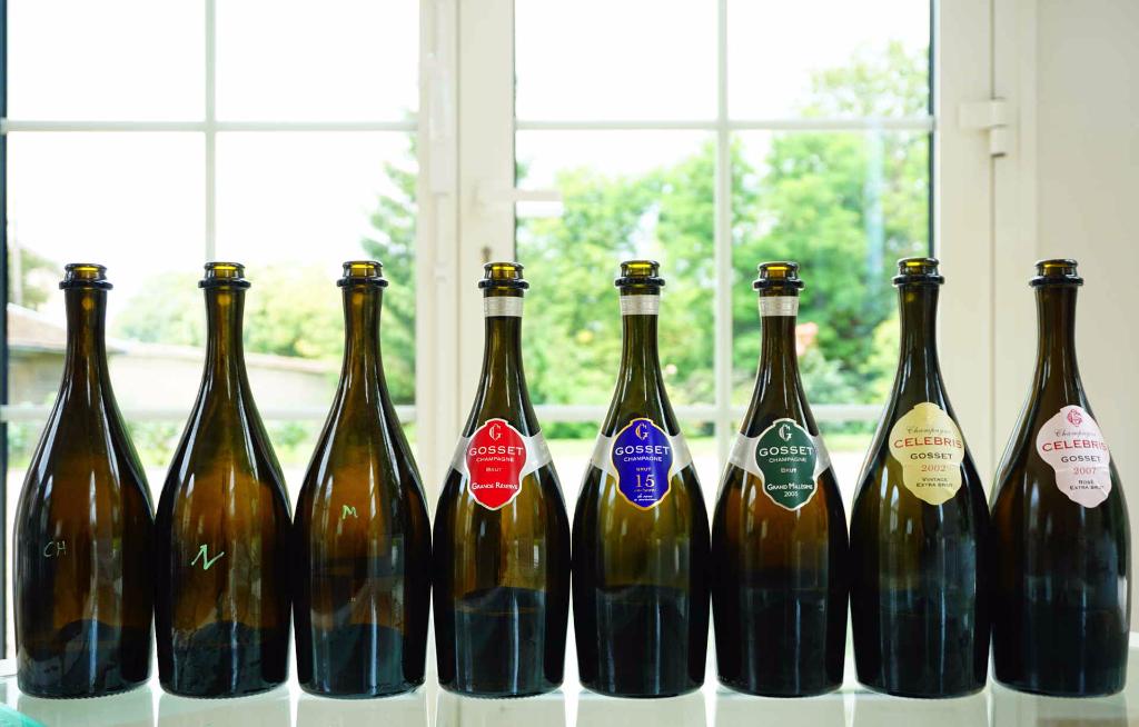 gosset-tasting-epernay-champagne-all-bottles